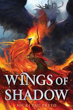 Wings of Shadow, portada del libro