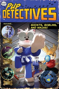 Ghosts, goblins, and ninjas by by Felix Gumpaw ; illustrated by Glass House Graphics.