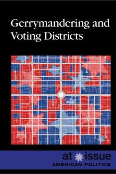 Distritos electorales y de Gerrymandering, portada del libro