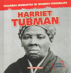 Harriet Tubman, book cover