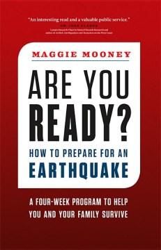 ¿Estás listo? Cómo prepararse para un terremoto, portada del libro