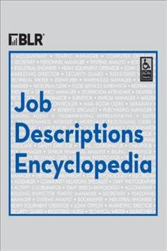 BLR's Job Descriptions Encyclopedia, book cover
