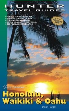 Honolulu, Waikiki y Oahu Travel Adventures, portada del libro