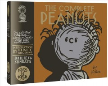 The Complete Peanuts 1955 a 1956, portada del libro