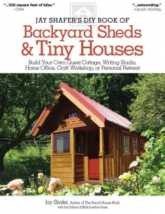 Jay Shafer's DIY Book of Backyard Sheds & Tiny Houses, book cover