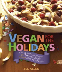 Vegan for the Holidays, book cover