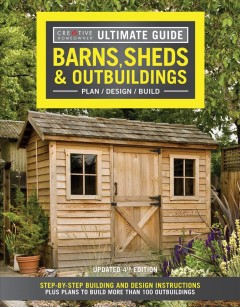 Barns, Sheds & Outbuildings, book cover