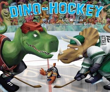 Dino-Hockey, book cover
