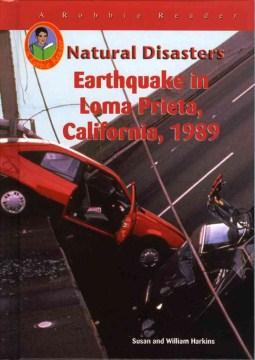 Terremoto en Loma Prieta, California, 1989, portada del libro.