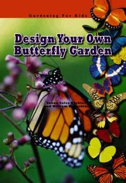 Diseña tu propio jardín de mariposas, portada de libro