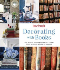 Decorating With Books, book cover