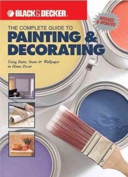 La guía completa para pintar y decorar, portada de libro