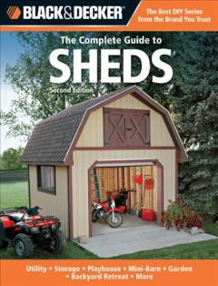 The Complete Guide to Sheds, book cover