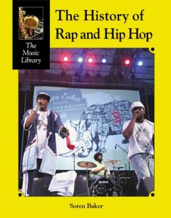 The History of Rap & Hip-hop, book cover