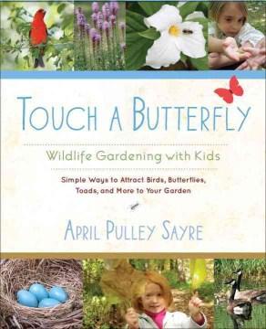 Toque una mariposa, portada del libro