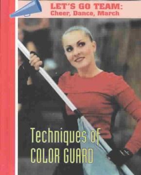 Técnicas de Color Guard, portada del libro