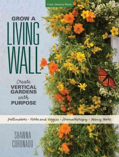 Grow a Living Wall, book cover