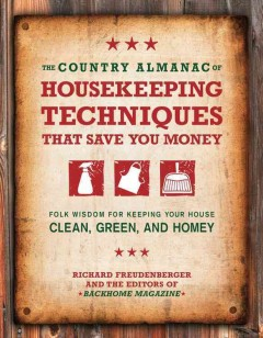 The Country Almanac of Housekeeping Techniques That Save You Money, book cover