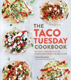 The Taco Tuesday Cookbook, book cover