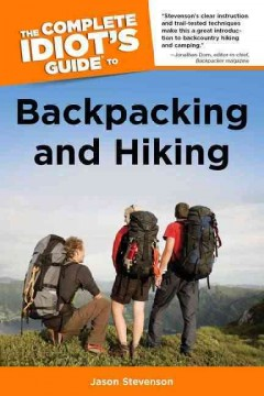 The Complete Idiot's Guide to Backpacking and Hiking, book cover