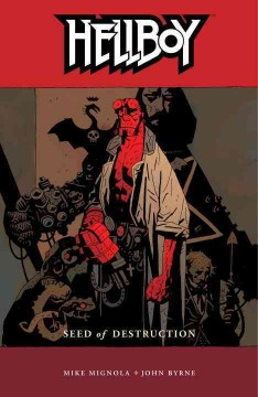 Hellboy: Seed of Destruction, book cover
