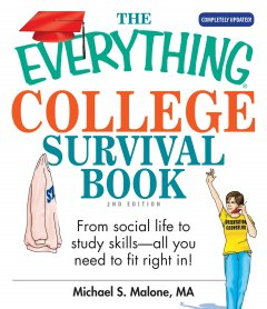 Everything College Survival Book, book cover