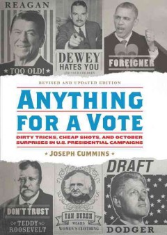 Anything for A Vote, book cover