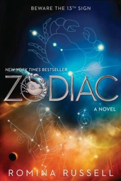 Zodiaco, portada de libro