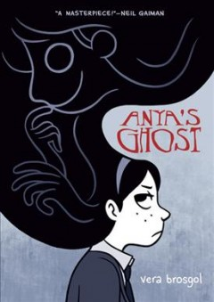 Anya's Ghost , book cover