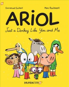 Ariol: Just a Donkey Like You and Me, book cover