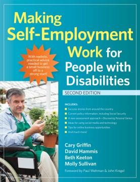 Realizar  Self-eTrabajo de implementación para personas con discapacidades, portada del libro