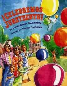 Celebremos Juneteenth!, book cover