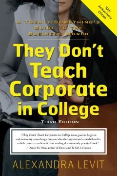 No enseñan corporaciones en la universidad, portada del libro