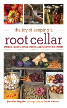 The Joy of Keeping A Root Cellar, book cover
