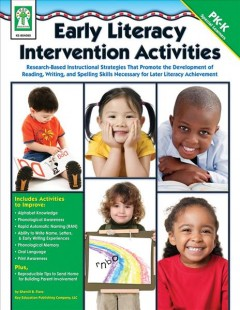 Early Literacy Intervention Activities, book cover