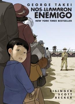 Nos llamaron enemigo, book cover