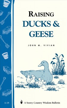 Raising Ducks and Geese, book cover