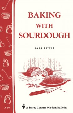 Baking With Sourdough, book cover