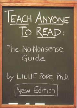 Teach Anyone to Read, book cover