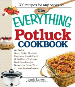 The Everything Potluck Cookbook, book cover