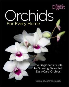 Orquídeas para cada hogar, portada del libro