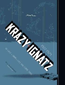"""Krazy & Ignatz: """"At Last My Drim of Love Has Come True"""", book cover"""