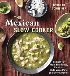 The Mexican Slow Cooker, book cover