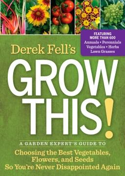 Derek Fell's Grow This !, portada del libro