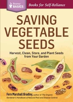 Ahorro de semillas de hortalizas, portada de libro