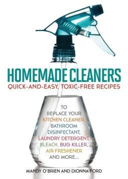 Limpiadores caseros, portada de libro
