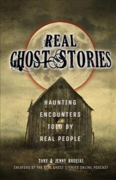 Fantasma real Stories: Haunting Encounters Told by Real People, portada del libro