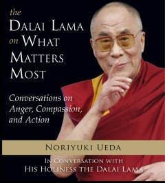 The Dalai Lama on What Matters Most: Conversations on Anger, Compassion and Action by Noriyuki Ueda, book cover