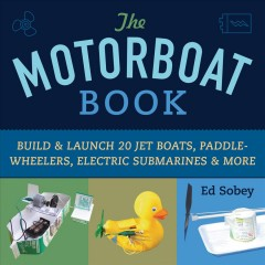 Motorboat book, book cover