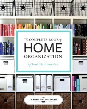 Libro completo de organización del hogar, portada del libro